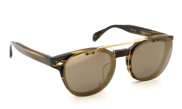 画像1: MAISON KITSUNE × OLIVER PEOPLES クリップオン付きメガネセット
