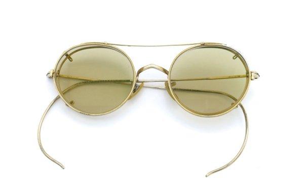 画像5: American Optical アメリカンオプティカル vintage ヴィンテージ GFメガネ+クリップオン