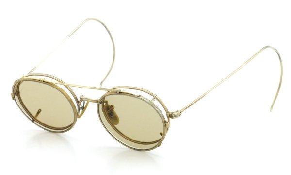 画像2: American Optical アメリカンオプティカル vintage ヴィンテージ GFメガネ+クリップオン