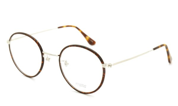 画像2: ayame アヤメ メガネ+クリップオンサングラス セット