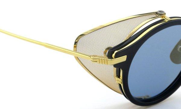THOM BROWNE.  NEWYORK(トムブラウンニューヨーク) 2014 F/W サングラス 生産終了 TB-804-B NVY-18kGLD 45size Dark-blue-Gold-flash 5