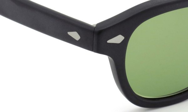 MOSCOT ORIGINALS (モスコット) サングラスカスタム LEMTOSH レムトッシュ Col.MATTE BLACK 44size Green-Lense { Sunglass by ponmegane } 5