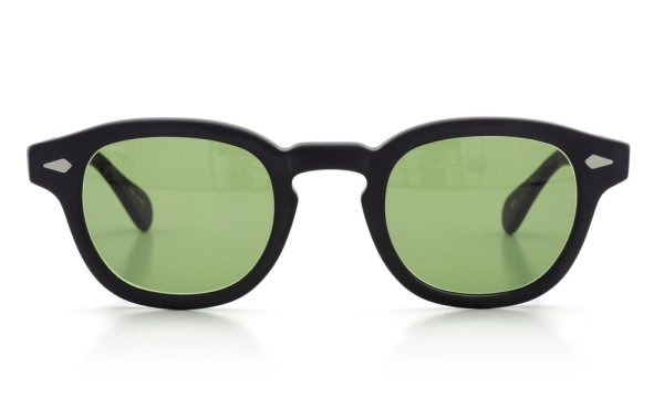 MOSCOT ORIGINALS (モスコット) サングラスカスタム LEMTOSH レムトッシュ Col.MATTE BLACK 44size Green-Lense { Sunglass by ponmegane } 2