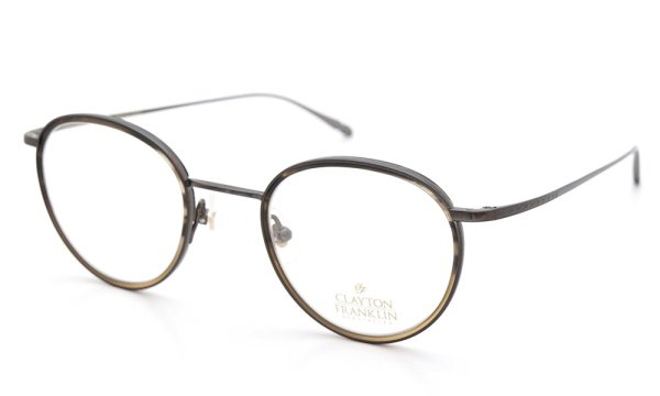 CLAYTON FRANKLIN (クレイトンフランクリン) 2015年春夏 新色 メガネ 606 MBR/MHB 1