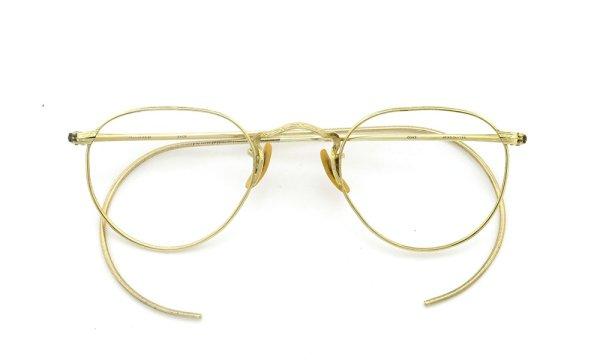 Boush&Lomb ボシュロムvintage ヴィンテージ メガネ 1930年代 ARCO FUL-VUE 1/10 12KGF 42-21 折りたたみ