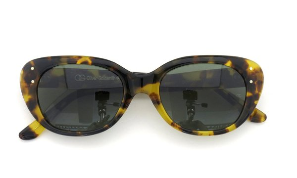 オリバーゴールドスミス サングラス SOPHIA 1958 Leopard