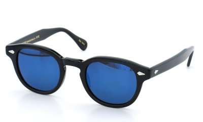 MOSCOT LEMTOSH SUN 46 BLACK/B.MIRROR