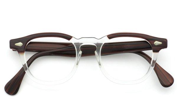 TART Optical vintage ARNEL REDWOOD CB-CLEAR 46-20