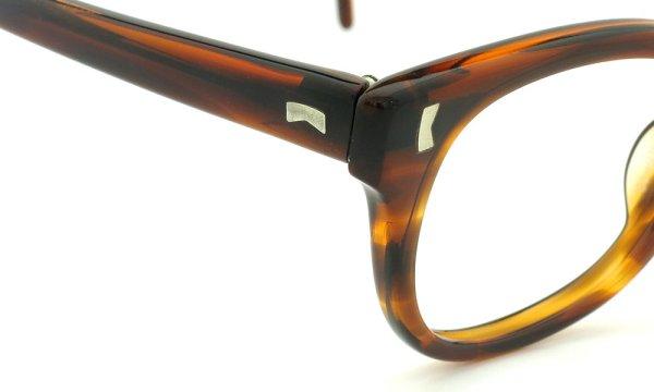 LIBERTY Optical vintage メガネ 9P DEMI-AMBER フックテンプル 46-18
