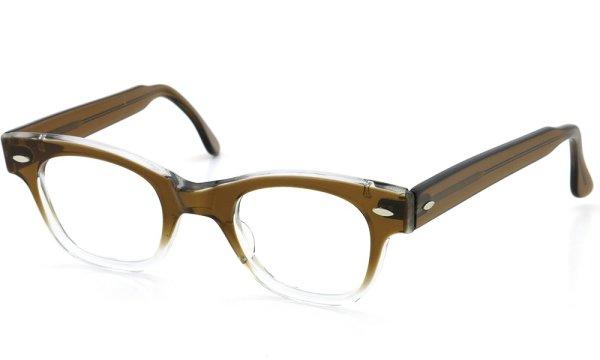 TART OPTICAL vintage 1950s COUNTDOWN BROWN FADE 46-24