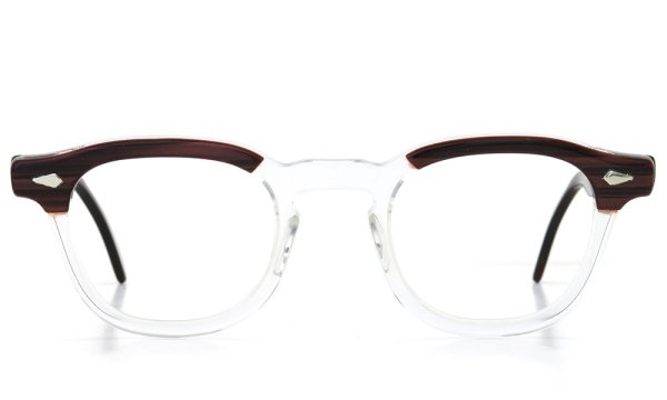 TART Optical vintage ARNEL REDWOOD CB-CLEAR 46-24 03