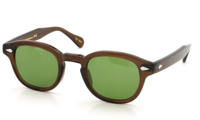 MOSCOT sun 44 BROWN/GREEN