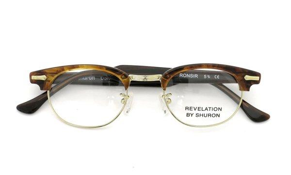 SHURON シュロン メガネ REVELATION レヴェレーション Tortoise/Gold 48-22