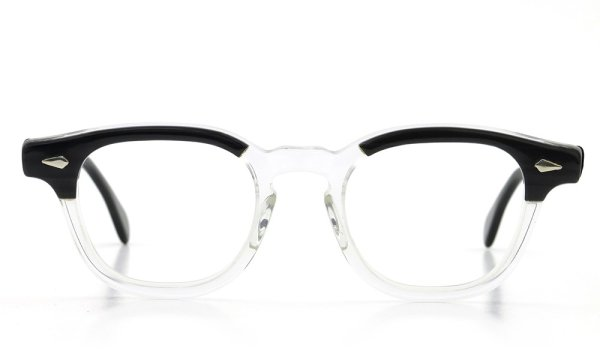 TART Optical vintage ヴィンテージ メガネ ARNEL アーネル BLACKWOOD CB-CLEAR 44-20 [no.3]