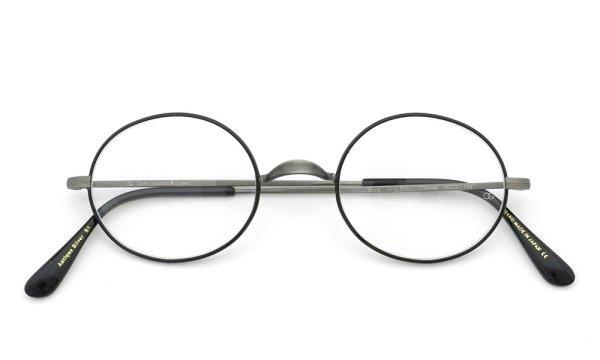 オリバーゴールドスミス メガネ Oval/Pro オーバル Titanium Antique-Silver BK