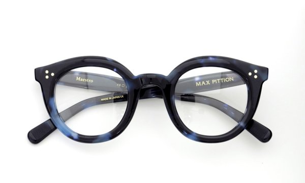 MAX PITTION Maestro マエストロ 46size Blue Tortoise