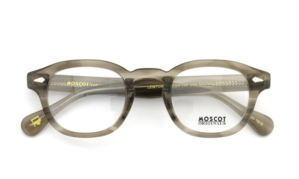 MOSCOT LEMTOSH BROWN ASH 44