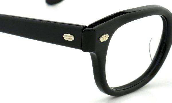 SRO STYL-RITE OPTICS vintage SAXON BLACK 44-24
