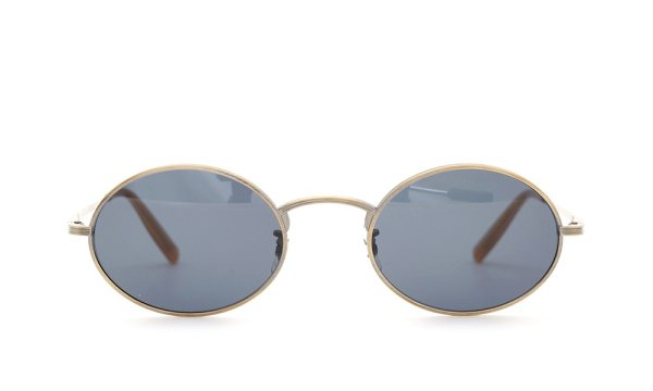 OLIVER PEOPLES × THE ROW EMPIRE-SUITE AG/BL 49size
