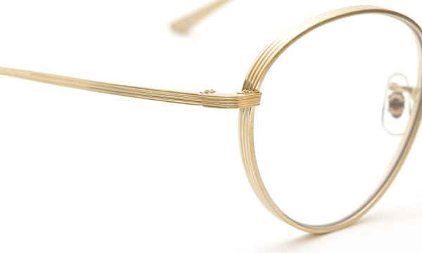 OLIVER PEOPLES × THE ROW メガネ BROWNSTONE col.BG 49size