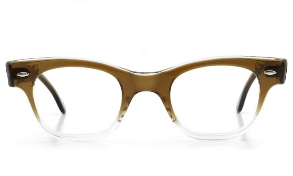 TART OPTICAL vintage 1950s COUNTDOWN BROWN FADE 46-24(V3)