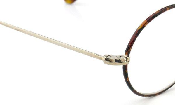 オリバーゴールドスミス メガネ Oval/Pro オーバル Titanium Gold-MMS