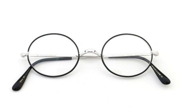 オリバーゴールドスミス メガネ Oval/Pro オーバル Titanium Silver BK
