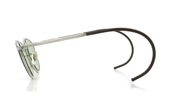American Optical vintage AVIATOR WELLINTON with IRIGINAL GREEN GLASS LENS 46-22