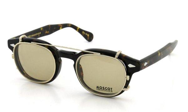 MOSCOT CLIPTOSH カスタム 46 GOLD/Light-Brown