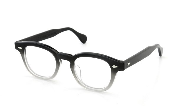 JULIUS TART OPTICAL 通販 AR-44 PL-001B BLACK CLEAR FADE