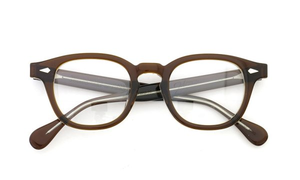 JULIUS TART OPTICAL 通販 AR-46-22 PL-002D BROWN CRYSTAL