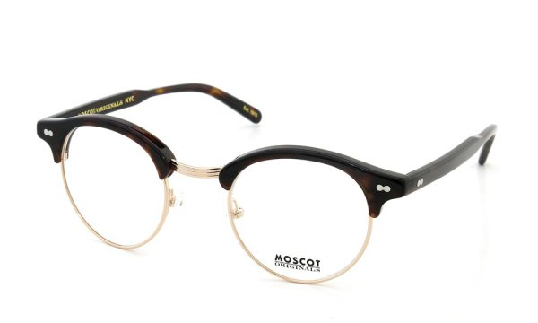 MOSCOT AIDEN col.BURNT TORTO/GOLD