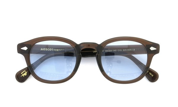 MOSCOT LEMTOSH BROWN 46 ライトブルー