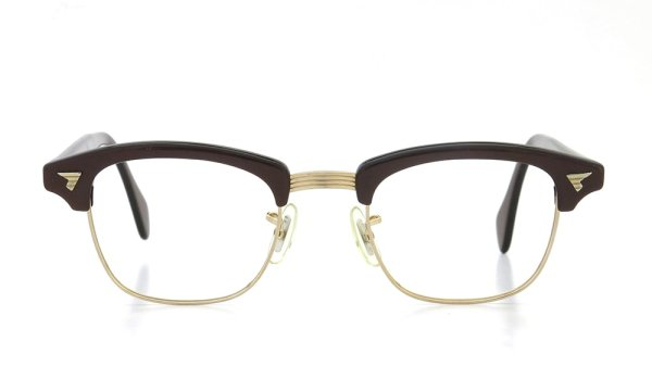 AO Vintage Malcolm-X type:2 1/10 12KGF Toffee/Gold 44-20