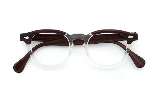 TART Optical 通販 ARNEL REDWOOD CB-CLEAR 46-20