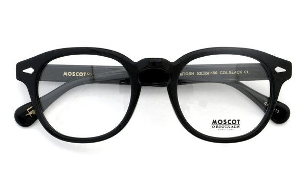 MOSCOT LEMTOSH Black 52