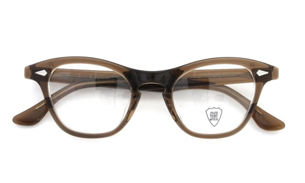 JULIUS TART OPTICAL Leading-Liz PL-014K BROWN-CRYSTAL