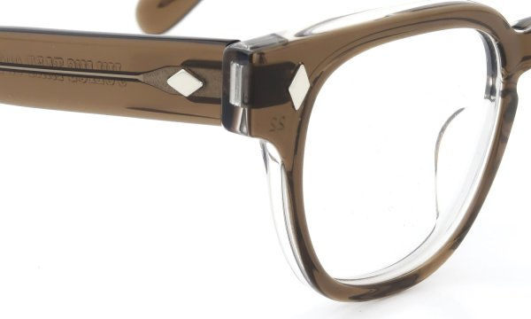 JULIUS TART OPTICAL BRYAN-44 BROWN-CRYSTALII