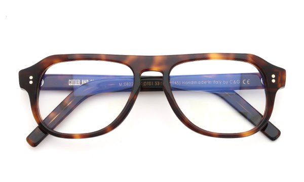 CUTLER AND GROSS 0822/2 DARK-TURTLE
