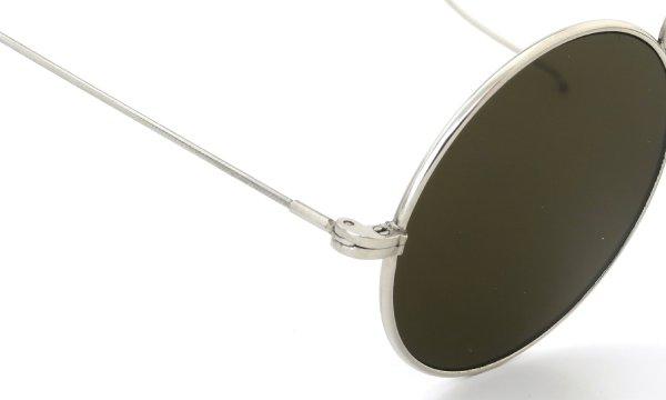 American Optical 推定1910s UPPER BRIDGE ROUND ORIGINAL-FLAT-DARK-GREEN-GLASS-LENS