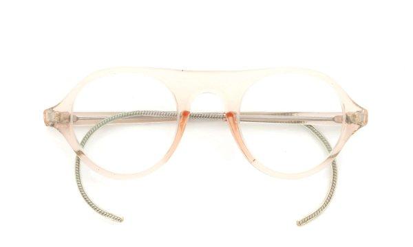 American Optical vintage SAFTY-GOGGLE P3 CRYSTAL-PINK-BEIGE 44-24