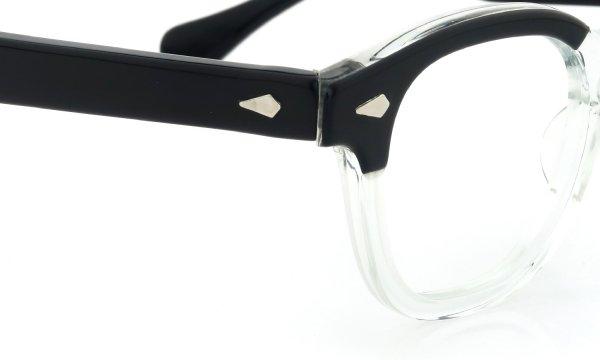 希少TART Optical vintage ARNEL BLACK-CLEAR 44-20