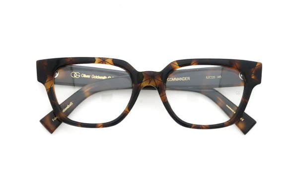 Oliver Goldsmith COMMANDER Fake Tortoiseshell
