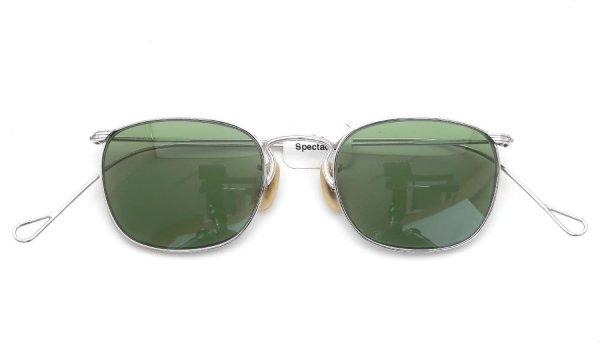 AO 1930s〜1940s Whitaker Full-Frame Ful-Vue WG 1/10 12KGF 44-20 Bottle-Green-Lens