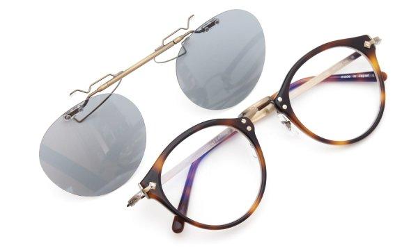 OLIVER PEOPLES OP-505専用 ポンメガネオリジナルクリップオンサングラス