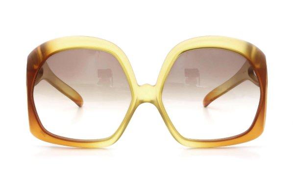Vintage Christian Dior 1970s 2005 Optyl Matte-Yellow-Amber