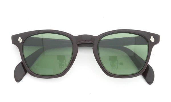 AO vintage Sunglasses AO鋲 Square Chocolate 46-22 Original-Green-Lens
