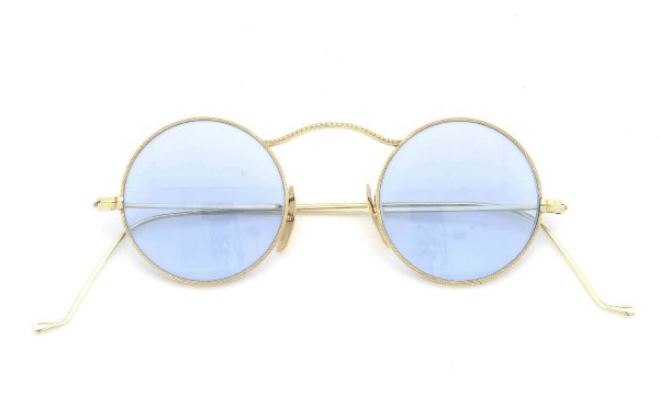 Continental Optical Co vintage 1920-1930 WANDO 12K Gold Filled Art-Deco Marshwood Frame with 14K Solid Gold Nose Pad