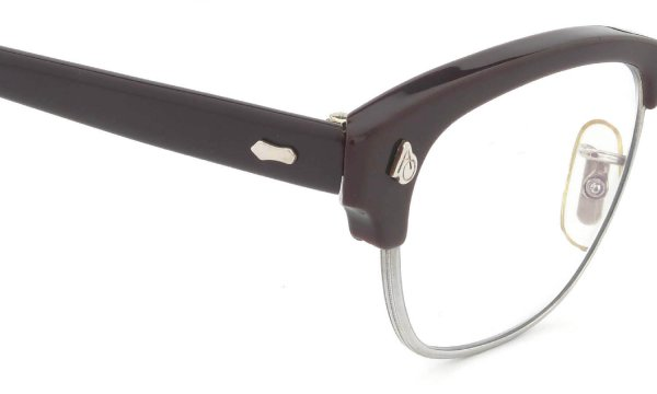 American Optical Vintage 1960s Brow Combination AO鋲 Brown/Silver 44-24