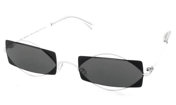 MYKITA / DAMIR DOMA Limited Edition Set CHARLOTTE Antique-White/Black Lens. Dark-Grey-Solid